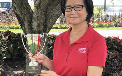 All-America Selections (AAS) honors breeder Jianping Ren