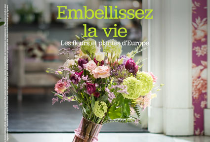 """Shine on"" the new promotional campaign  for European flowers and plants"