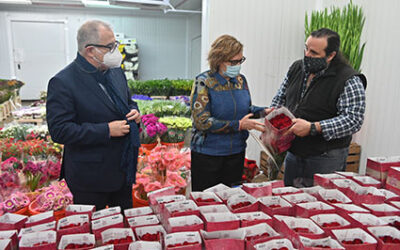 Mercabarna-flor foresees Catalonia sales of 4.2 million roses for San Jordi